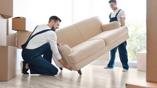 Comment déménager son canapé ?